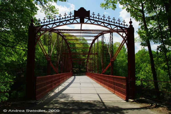 Lovers Leap Bridge in New Milford CT