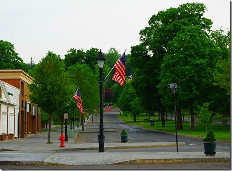 Town Green Memorial Flags